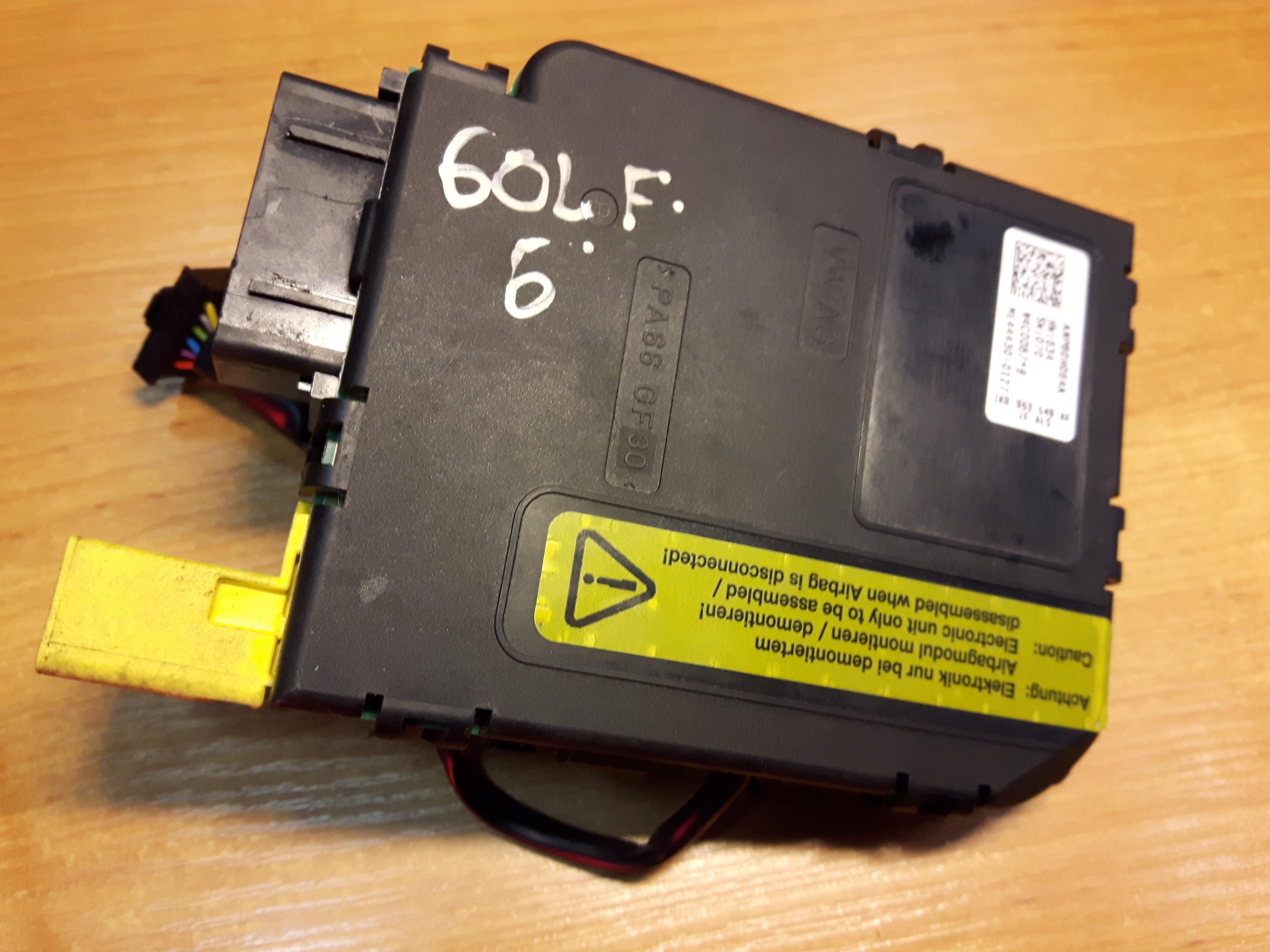 Vw Golf 5 1 4 Petrol Steering Wheel Control Module 1k0953549af Article